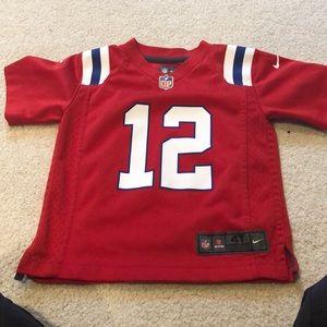 New England Patriots Tom Brady Throwback 4T Jersey